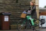 Cool girl going green